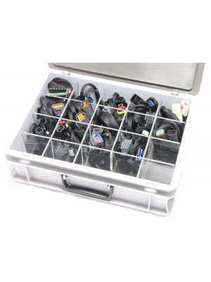 Storage case including inlay 300