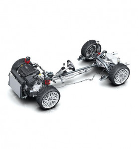 Powertrain and chassis