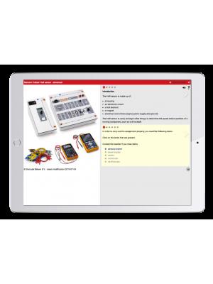 Digital work orders Automotive Sensors Trainer