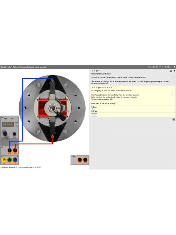 Automotive Electric Motors Trainer | 112022100 | Thepra