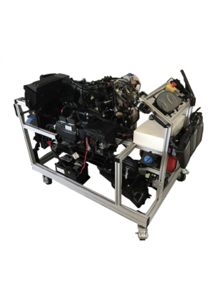 VW CDI Engine EURO 6 with SCR