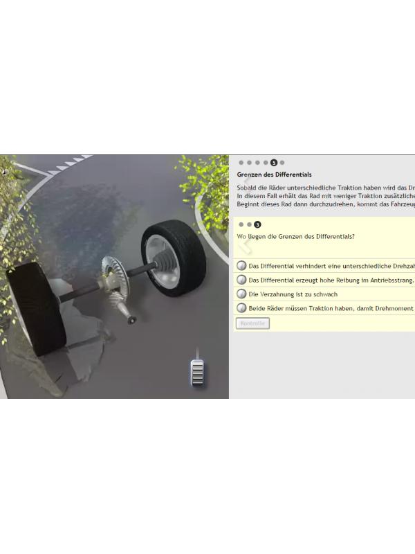 E-Learning Automotive Technology