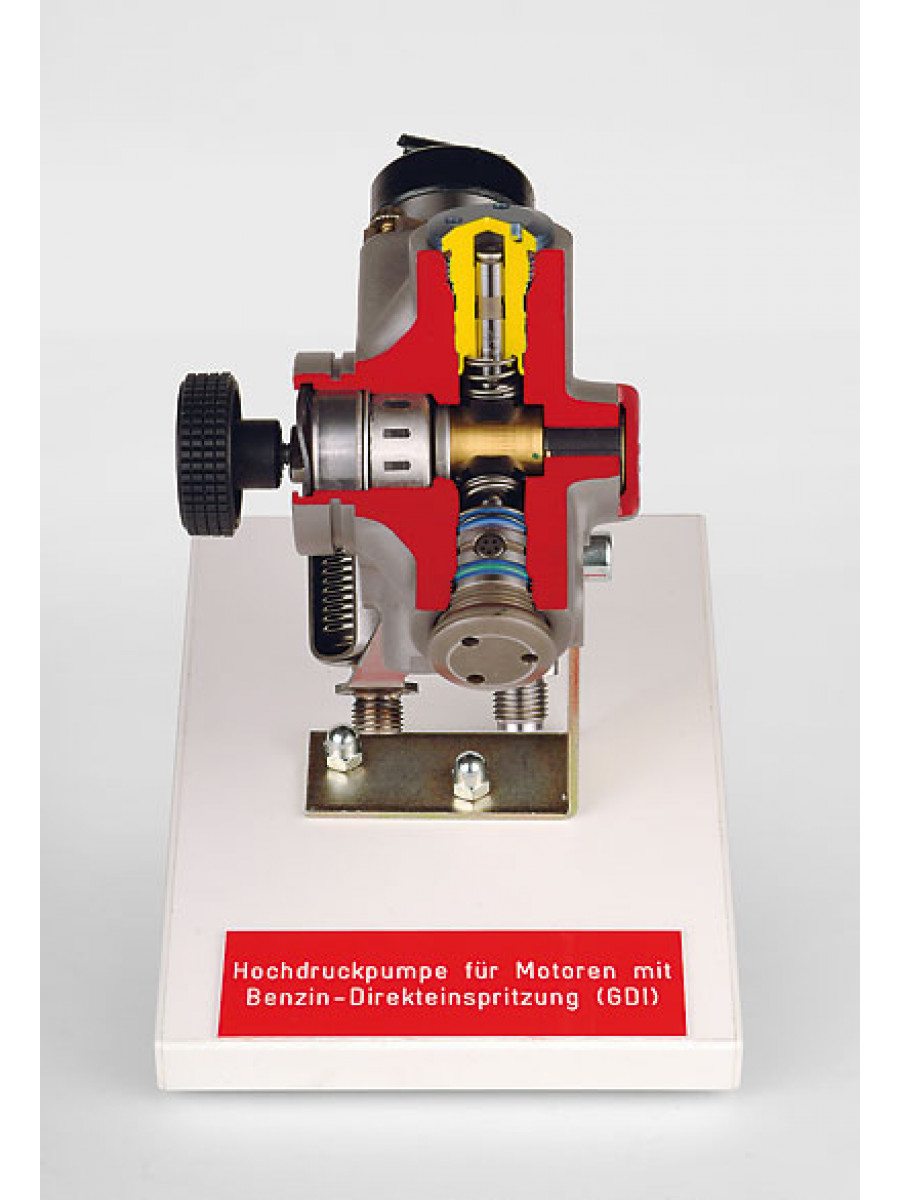 High-pressure pump for engines with direct petrol injection (GDI
