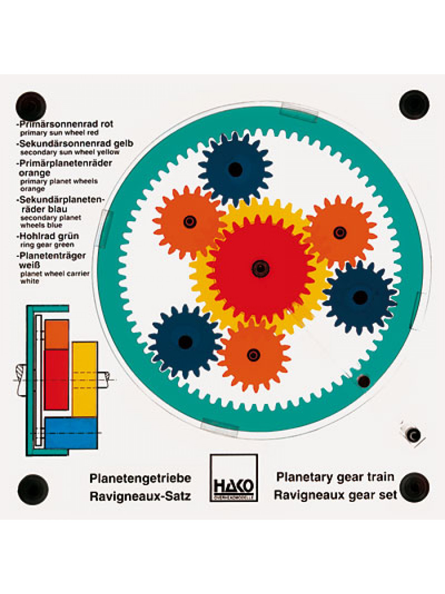 Planetary Gear Set >> Planetary gear train: Ravigneaux gear set | 810000240 | TECHNOLAB SA