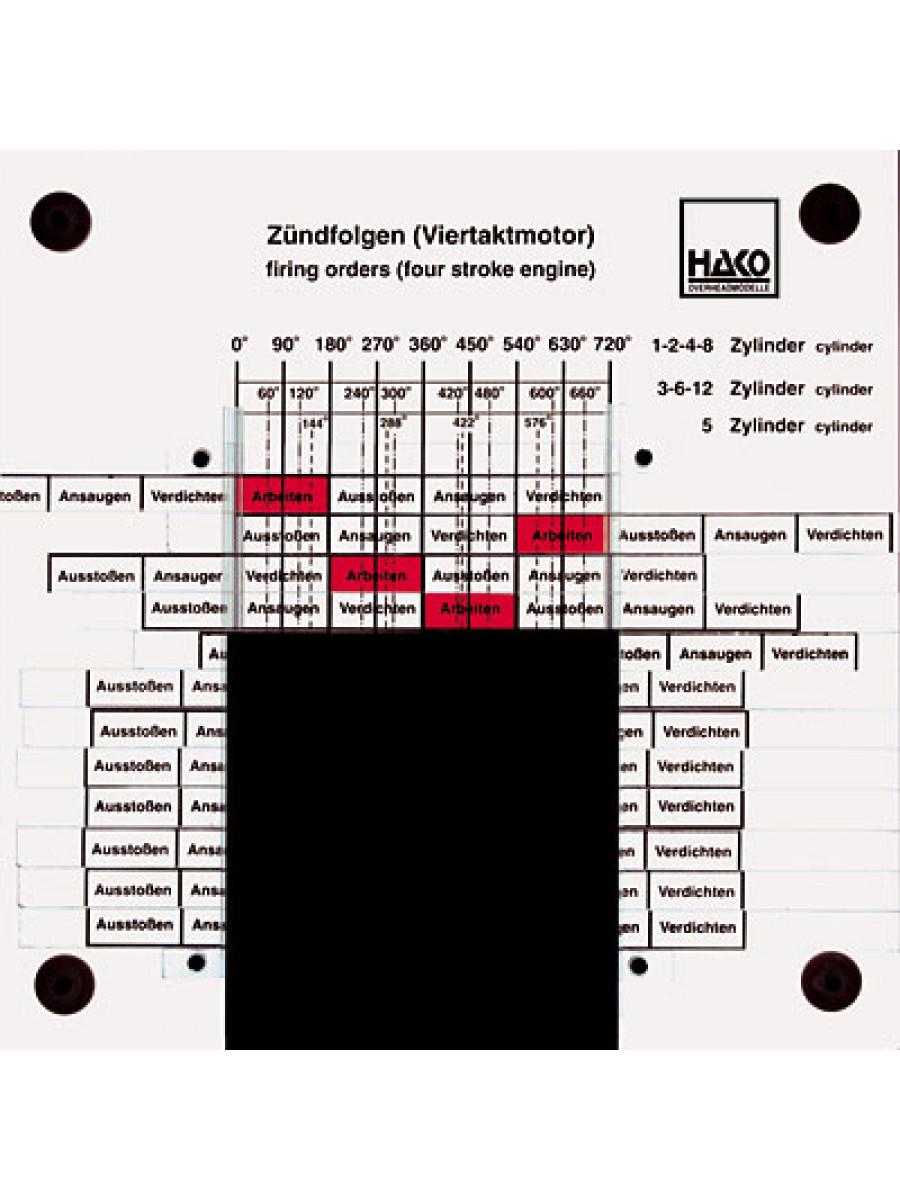 Engine Firing Order Diagram